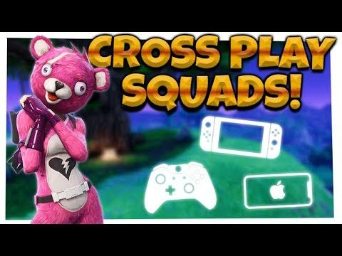Fortnite: SEASON 5 R.I.P TAC SMG! | CROSSPLAY SQUADS | iOS, Xbox, Switch!