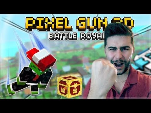 I WON MY FIRST EVER BATTLE ROYALE GAME! NEW ROYALE ISLAND UPDATE! | Pixel Gun 3D 15.1.0