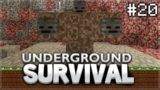 Minecraft Xbox – Underground Survival – The Day Above Ground! Episode 20