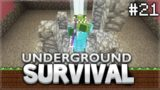 Minecraft Xbox – Underground Survival – The SUPER Beacon! Episode 21