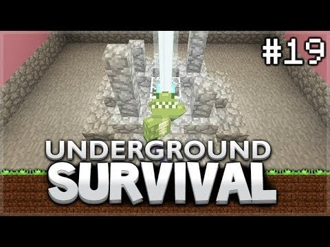 Minecraft Xbox – Underground Survival – The Super Beacon! Episode 19