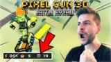 MY FIRST EVER SQUAD BATTLE ROYALE VICTORY! NEW MAP, GLIDERS & MORE! | Pixel Gun 3D 15.1.0 UPDATE!