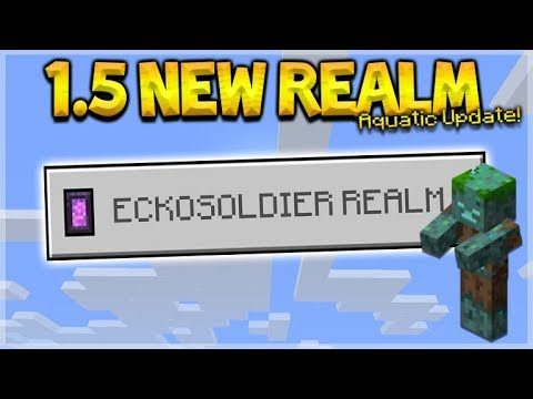 NEW 1.5 AQUATIC REALM – NEW 1.5 Survival Realm (Subscriber Realm)