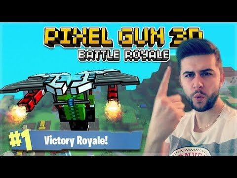NEW BATTLE ROYALE UPDATE! HUGE MAP AND SQUAD BATTLES! | Pixel Gun 3D 15.1.0
