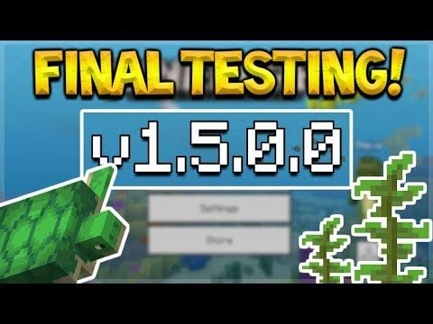 NEW MCPE 1.5.0.0 UPDATE Minecraft Pocket Edition – 1.5.0.0 FINAL TESTING & Release!