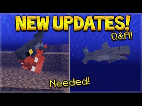 NEW Minecraft Updates – Minecraft PC Being Replaced & NEW Ocean Fish Q&A