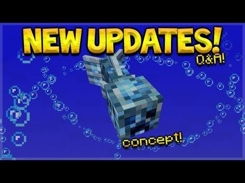 NEW Minecraft Updates – Waypoints On Maps & Creeper Fish Q&A