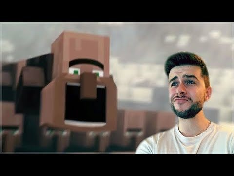 REACTING TO FUNNY MINECRAFT VILLAGER NEWS 4 MOVIE! Minecraft Animations!