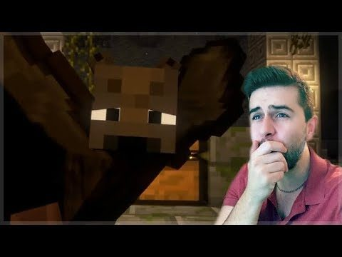REACTING TO TREASURE TRAILS MINECRAFT MOVIE! Mineraft Animations!