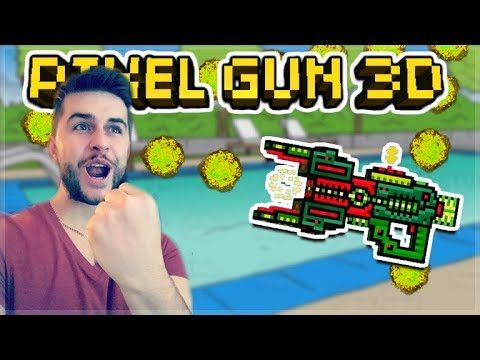 THIS WEAPON IS SUPER FUN TO USE!! EPIC MANTICORE RICOCHET! | Pixel Gun 3D
