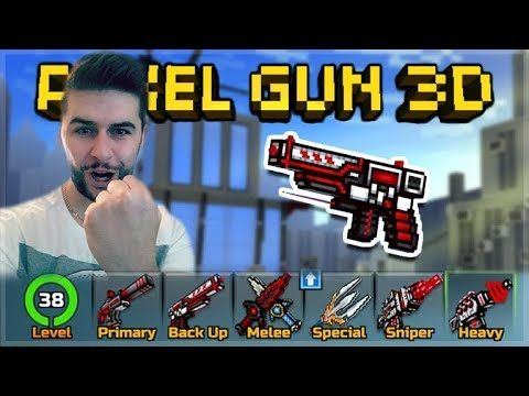 TRY HARD NOOB WEAPONS ONLY!! THE LAST TIME EVER!   Pixel Gun 3D
