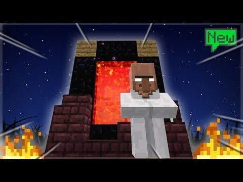 WE FOUND THE END INSIDE THE NETHER! Skytrade Minecraft SKYBLOCK Survival (11)