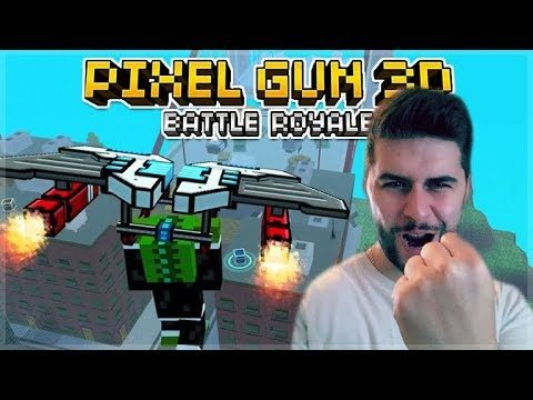 WE GOT 4 WINS IN A ROW! VICTORY ROYALES! TRY HARD ROYALE ISLAND BATTLES | Pixel Gun 3D
