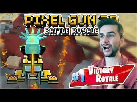 WINNING SQUAD GAMES ON MY OWN! 105 BATTLE ROYALE VICTORYS! | Pixel Gun 3D
