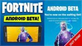 Fortnite ANDROID Mobile – FORTNITE ANDROID RELEASED BETA CODES! How To Join Fortnite Android Beta!