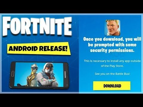 Fortnite Mobile – FORTNITE ANDROID RELEASE DATE – NOT Coming To Google Play Store!!