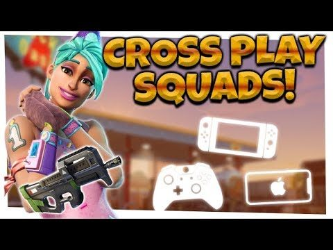Fortnite: Season 5 OP P90 SMG!  | CROSSPLAY SQUADS | iOS, Xbox, Switch!