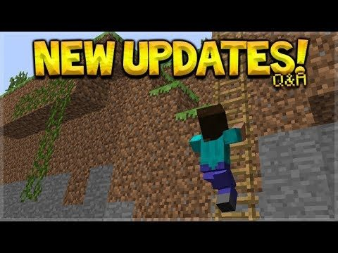 Future Minecraft Updates – NEW Player Animations! & NEW Cave Ores Q&A