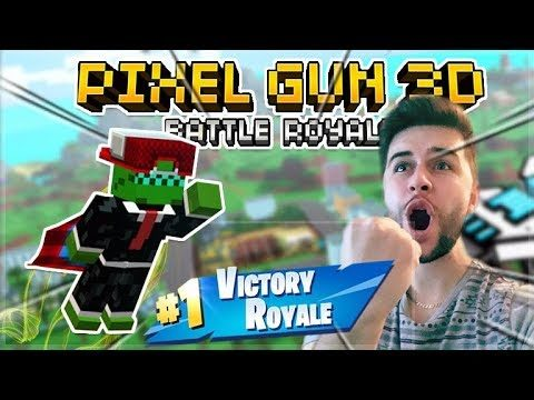 INSANE CHALLENGE BATTLES!! IN BATTLE ROYALE GAME-MODE! | Pixel Gun 3D