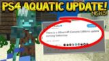 Minecraft Xbox 360/ PS4: NEW Title Update 67 – PS4 AQUATIC UPDATE RELEASE NEWS!