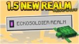 NEW 1.5 AQUATIC REALM – NEW 1.5 Survival Realm Diamond Exploring (Subscriber Realm)
