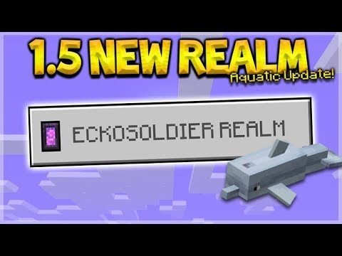 NEW 1.5 AQUATIC REALM – NEW 1.5 Survival Diamond Mining! (Subscriber Realm)