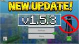 NEW MCPE 1.5.3 UPDATE! Minecraft Pocket Edition – 4D SKINS REMOVED From The Game!