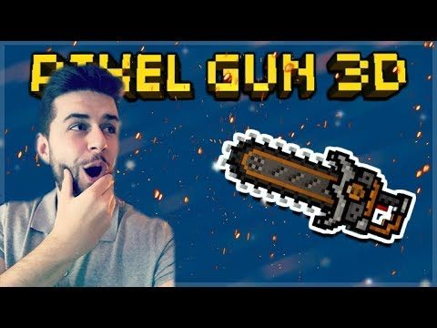 YOU WILL COME TOP IN EVERY GAME USING THE LEGENDARY CHAINSAW SWORD! | Pixel Gun 3D
