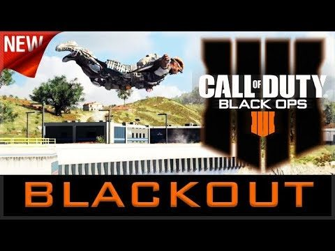 CALL OF DUTY: BLACK OUT – NEW BLACKOPS 4 BATTLE ROYALE (Xbox One X)
