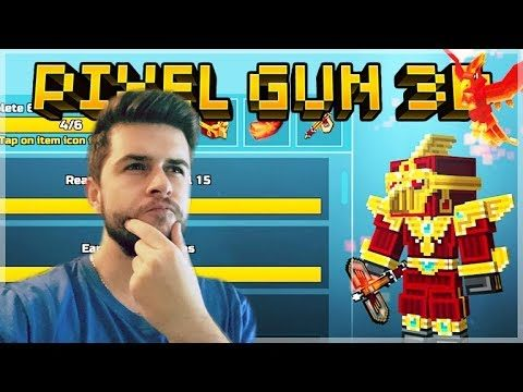 COMPLETING CHALLENGES! NEW 15.2.2 BATTLE PASS BATTLE ROYALE | Pixel Gun 3D
