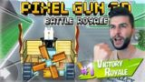 COMPLETING THE SEASON PASS 200+ BATTLE ROYALE VICTORY'S | Pixel Gun 3D