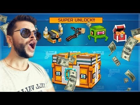 DID WE GET LUCKY!! MEGA SUPER CHEST OPENING! SUPER LOTTERY | Pixel Gun 3D