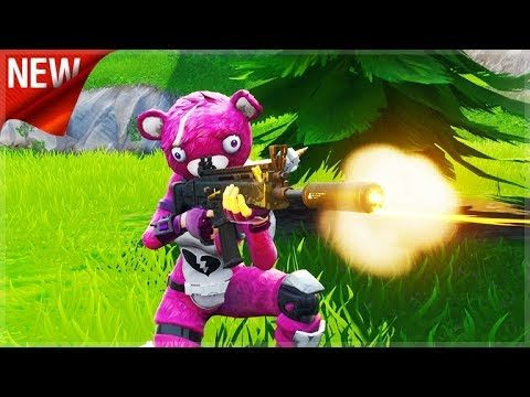 Fortnite: Season 5: NEW Suppressed Scar | CROSSPLAY SQUADS | iOS, Android, Xbox, Switch!