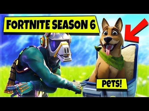 Fortnite: Season 6 OMG! THEY ADDED PETS! | CROSSPLAY SQUADS | iOS, Android, Xbox, PS4, Switch!