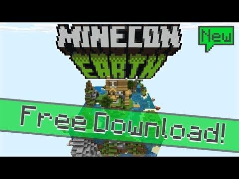 FREE MINECON EARTH MAP – Custom Survival Minecon 2018 Map!