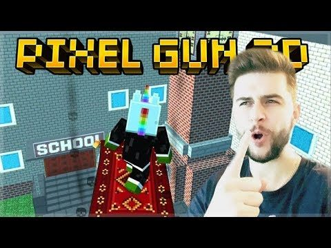 LANDING AT SCHOOL ONLY! THE ONE LOCATION CHALLENGE | Pixel Gun 3D