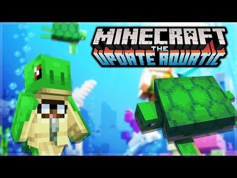 MINECRAFT 1.13 AQUATIC UPDATE – THE OCEAN TREASURE HUNT! (4)