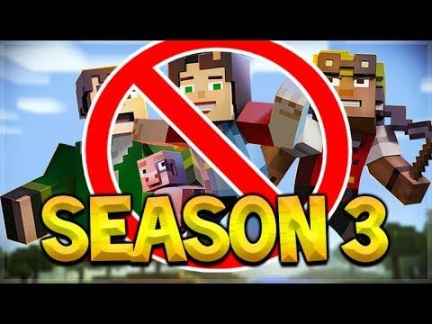 MINECRAFT STORY MODE SEASON 3 CANCELLED – THE END FOR TELLTALE GAMES!