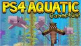 Minecraft Xbox/PS4 – AQUATIC UPDATE FIRST EXPERIENCE GAMEPLAY (Xbox, PS3, PS4, PS Vita, Wii U)