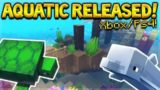 Minecraft: Xbox/PS4 -Aquatic Update FULLY RELEASED! FULL CHANGE-LOG (Xbox, PS3, PS Vita, PS4, WiiU)