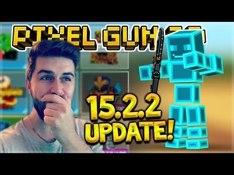 NEW 15.2.2 UPDATE RELEASED! – NEW WEAPONS, CARS, BATTLE PASS, FREE GEMS & COINS GIVEN | Pixel Gun 3D