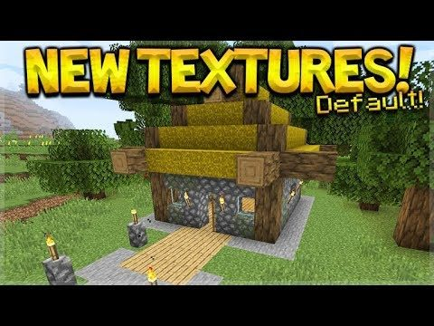 NEW Minecraft Default Textures – ALL TEXTURES ARE CHANGING! (MCPE, PC, Xbox, Switch)