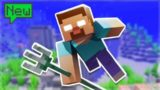 THE HUNT FOR A TRIDENT WEAPON! Skytrade Minecraft SKYBLOCK Survival (33)