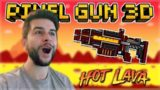 THE MYTHICAL HEART OF VOLCANO BATTLE PASS WEAPON REVIEW | Pixel Gun 3D