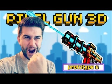 THE ONE KILL HEADSHOTS! CRAFTABLE PROTOTYPES S THE BEST SNIPER! | Pixel Gun 3D