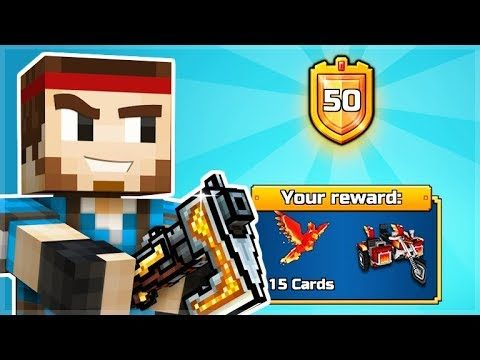 WE MADE IT TO THE HIGHEST BATTLE PASS LEVEL 50 MAX LEVEL | Pixel Gun 3D