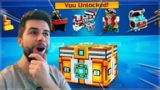 WE UNLOCKED SO MANY THINGS! SUPER LOTTERY CHEST OPENING! | Pixel Gun 3D