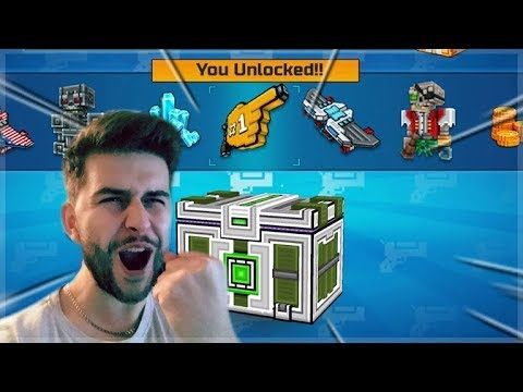 WE UNLOCKED SPECIAL UNIQUE WEAPON! EPIC SUPER LOTTERY SUPER CHEST OPENING! | Pixel Gun 3D