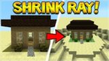 WORKING SHRINK RAY! – SHRINK EVERYTHING IN MINECRAFT!