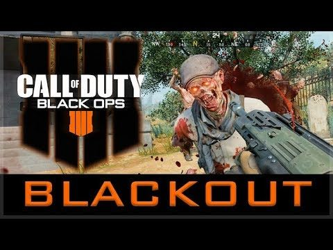 Call of Duty: Black Ops 4 // Blackout Battle Royale (COD BO4 Multiplayer Gameplay)